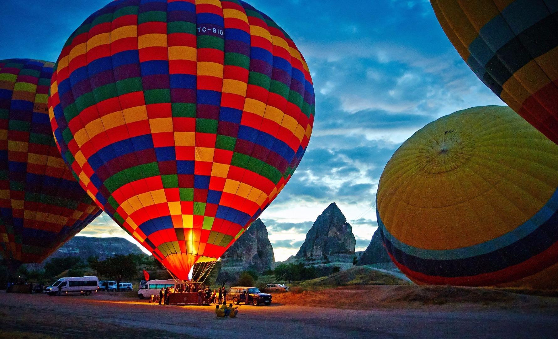 air balloon cappadocia